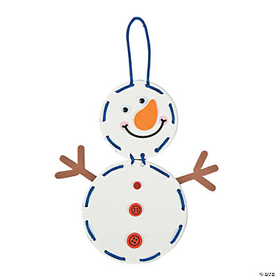 Lacing Snowman Craft Kit