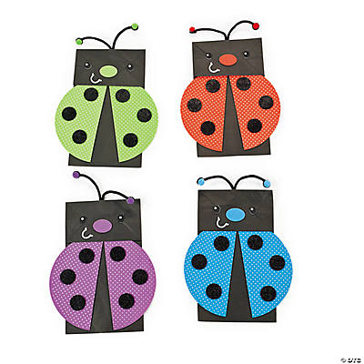 Lady Bug Puppet Craft Kit