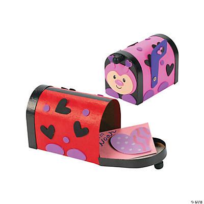 ladybug valentine mailbox craft kit - Valentine Mailboxes