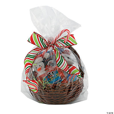 Clear cellophane gift basket bags large clear cellophane gift basket bags negle Images
