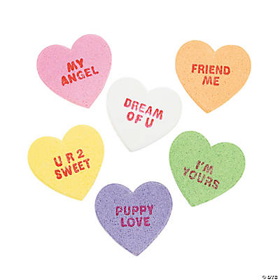 Large Conversation Hearts