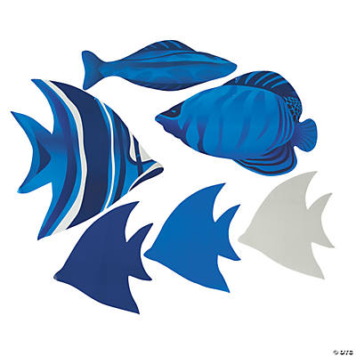 Large Fish Cutouts
