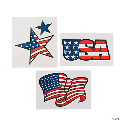 Large Flag Tattoos