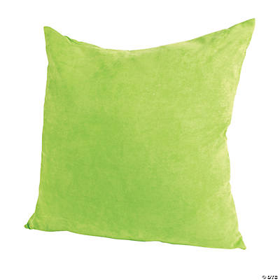 large green pillow