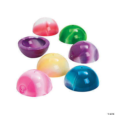 Large Marbleized Poppers