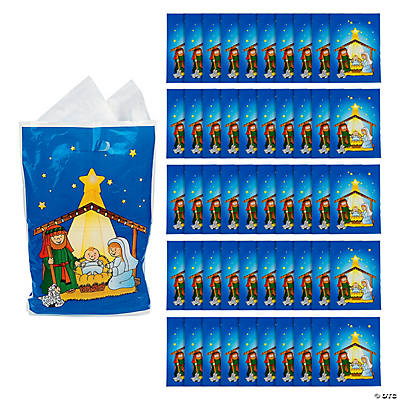 Large Nativity Goody Bags