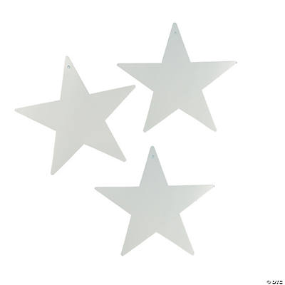 Large Silver Stars