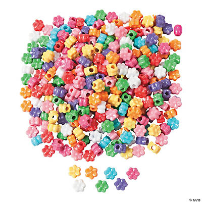 1/2 Lb. of Fabulous Flower Pony Beads
