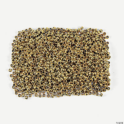 1 Lb. of Gold Pony Beads