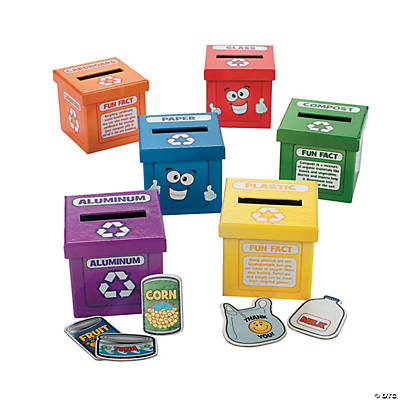 Learn To Recycle Activity Boxes
