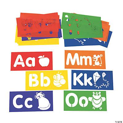 Your ABCs Large Alphabet Stencils