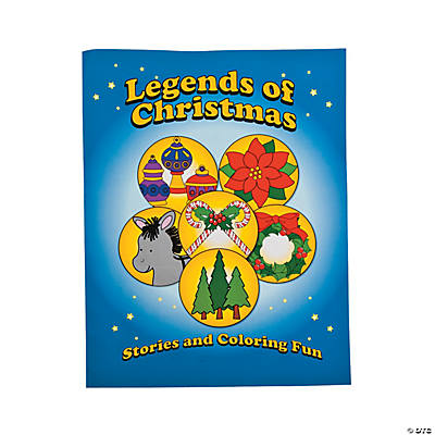 """Legends of Christmas"" Coloring Books"