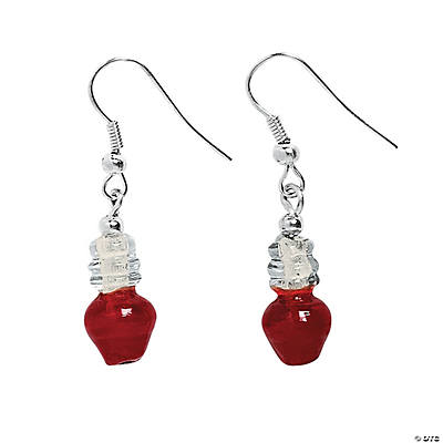 LESS THAN PERFECT: Christmas Lights Lampwork Earring Kit
