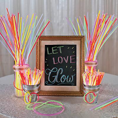 Let Love Glow Wedding Idea