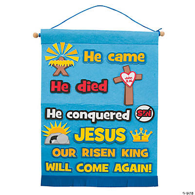 Life of Christ Sign Craft Kit