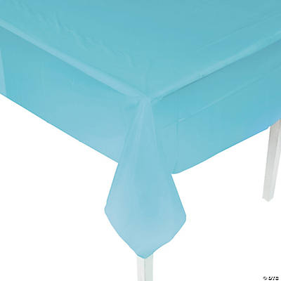 Light Blue Tablecloth