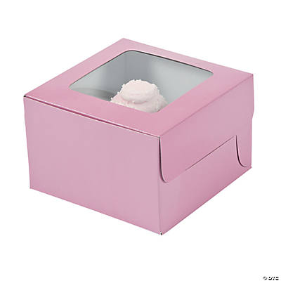 Light Pink Cupcake Boxes