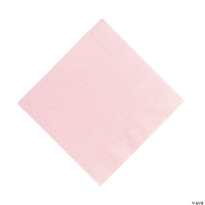 Light Pink Luncheon Napkins