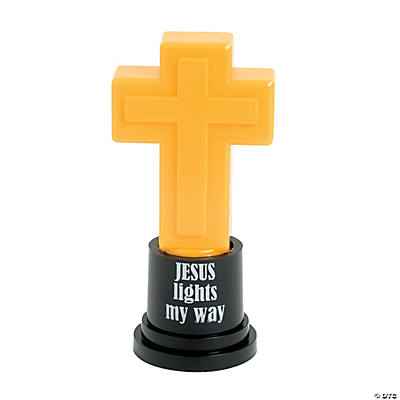 Light-Up Cross Trophy