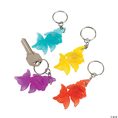 Light-Up Goldfish Key Chains