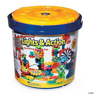 Lights action gears building set oriental trading for Motor age training coupon code