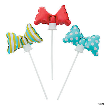 Lil Man Bow Tie Self-Inflate Balloons