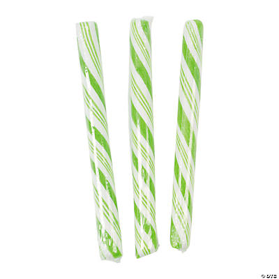 Lime Green Candy Sticks
