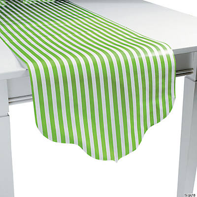 Lime Green Reversible Table Runner