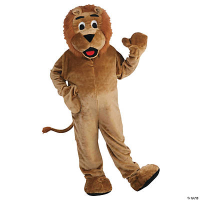 Lion Mascot Costume for Adults