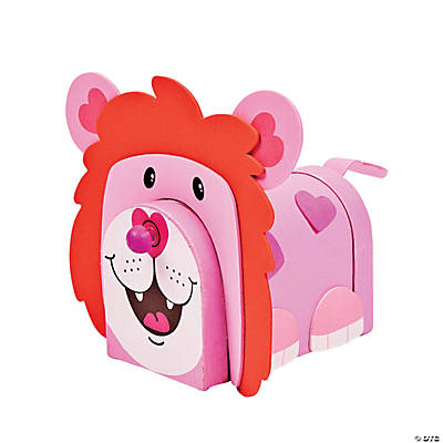 Lion Valentine Holder Craft Kit