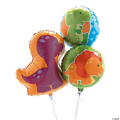 Little Dino Mylar Balloons