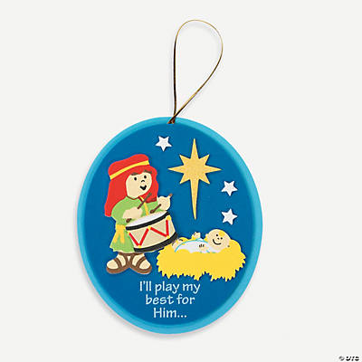 Little Drummer Boy Ornament Craft Kit