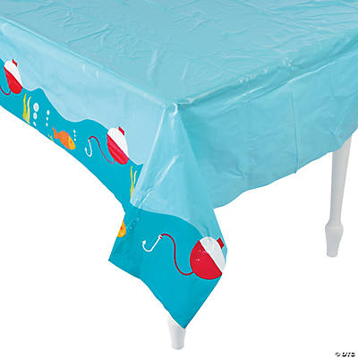 Little Fisherman Plastic Tablecloth