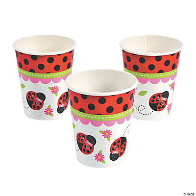 Little Ladybug Paper Cups