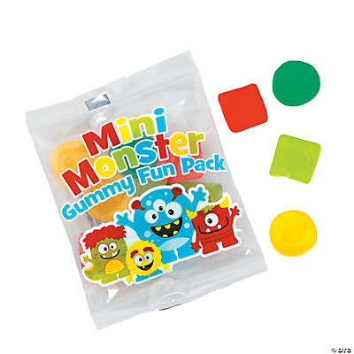 Little Monster Gummy Fun Packs