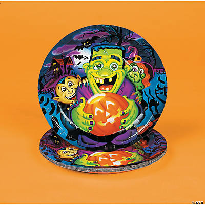 Little Monsters Dinner Plates