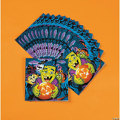 Little Monsters Luncheon Napkins