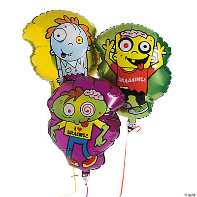 Little Zombie Mylar Balloon Set