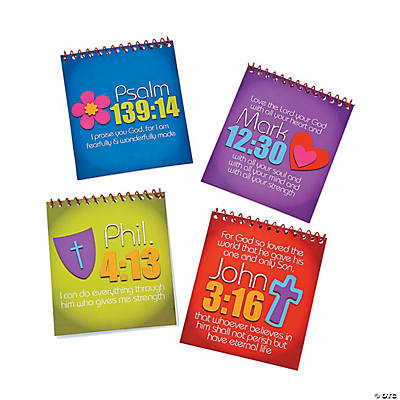 Live in His Love Spiral Color Pads with Stickers
