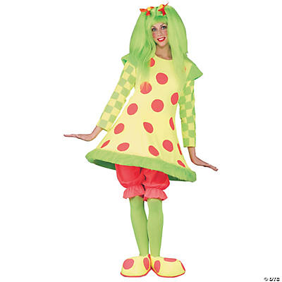 Lolli the Clown Adult Women's Costume
