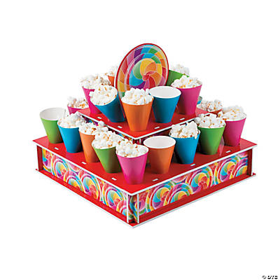 Lollipop Lane Tray with Cones