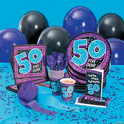 Look Who's 50! Basic Party Pack