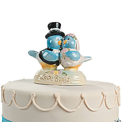 """Love Birds"" Cake Topper"