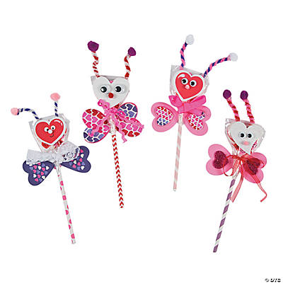 Love Bug Lollipops Idea