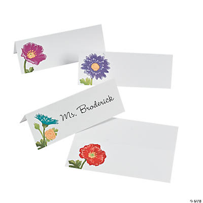 Love in Bloom Place Cards