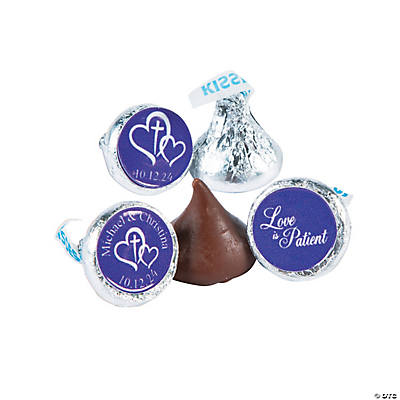 Love is Patient Hershey's® Kisses® Personalized Stickers