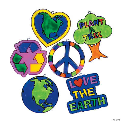 """Love the Earth"" Sun Catchers"