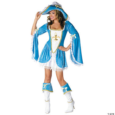 Madam Musketeer Adult Women's Costume