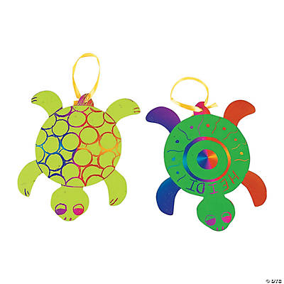 Magic Color Scratch Turtles
