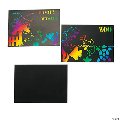 Magic Scratch Stencil Packet